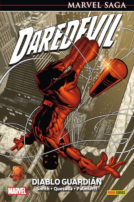 MARVEL SAGA VOL.01: DAREDEVIL 1 DIABLO GUARDIAN [CARTONE] | SMITH / QUESADA | Akira Comics  - libreria donde comprar comics, juegos y libros online