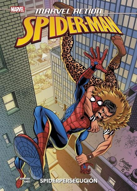 MARVEL ACTION: SPIDERMAN VOLUMEN 2 SPIDERPERSECUCION [CARTONE] | JONES, CHRISTOPHER / BURNHAM, ERIK | Akira Comics  - libreria donde comprar comics, juegos y libros online
