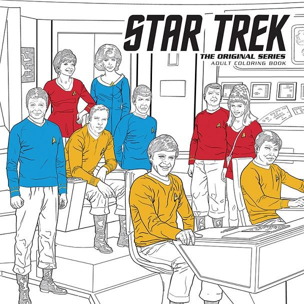 STAR TREK THE ORIGINAL SERIES: COLORING BOOK (LIBRO PARA COLOREAR) [RUSTICA] | Akira Comics  - libreria donde comprar comics, juegos y libros online
