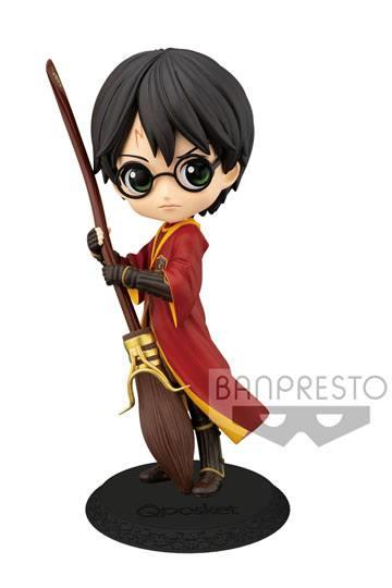 Q POSKET HARRY POTTER: HARRY POTTER EN TRAJE DE QUIDDITCH (VER. COLOR NORMAL) 14 CM | Akira Comics  - libreria donde comprar comics, juegos y libros online
