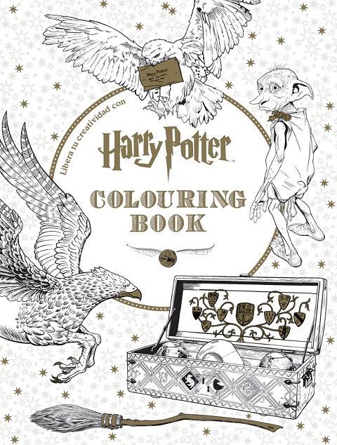 HARRY POTTER: COLOURING BOOK (LIBRO PARA COLOREAR) [RUSTICA] | Akira ...