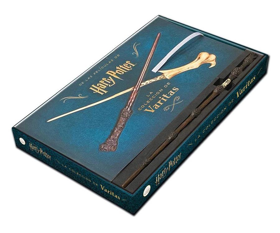 Harry Potter La Coleccion De Varitas Incluye Una Varita De Sauco Cartone Akira Comics Libreria