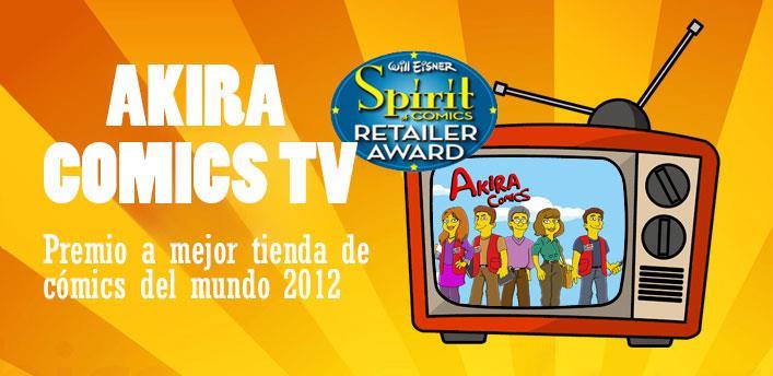Akira Comics - Mejor Tienda de Comics del Mundo 2012 - libreria donde comprar  comics e80b65d3c292