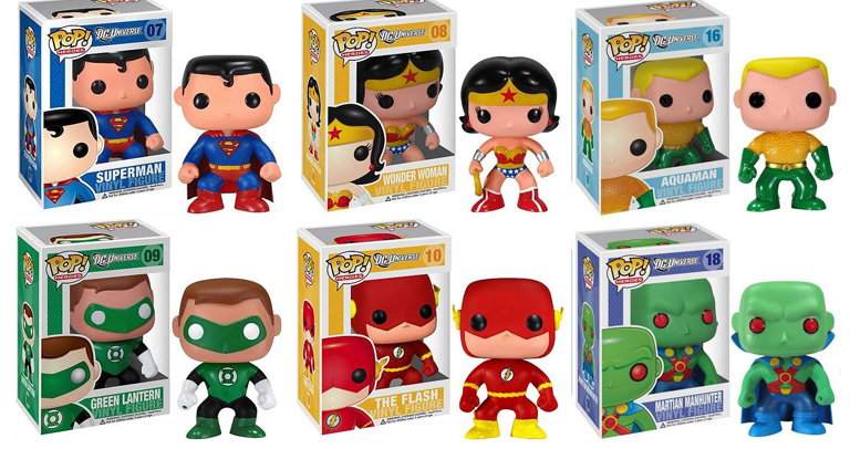 DC Cómics Funko Pop!