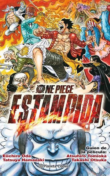 One Piece Estampida Novela Rustica Oda Eiichiro Akira Comics Libreria Donde Comprar Comics Juegos