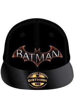 GORRA DE BEISBOL DC  BATMAN LOGO VERSION VIDEJUEGO (COLOR NEGRO ... 17d0f58cc9b
