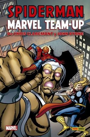 SPIDERMAN: MARVEL TEAM-UP (COLECCION 100% MARVEL HC) [CARTONE] | BYRNE, JOHN / CLAREMONT, CHRIS | Akira Comics  - libreria donde comprar comics, juegos y libros online